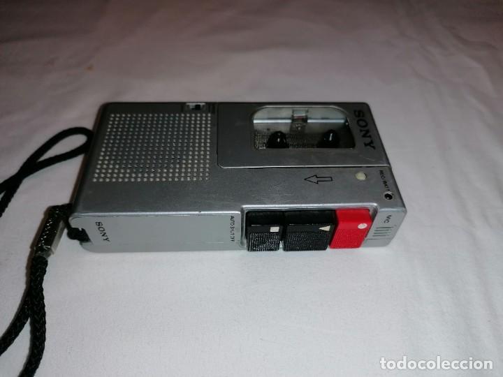 SONY MICRO CASSETTE CORDER M-9 (Radios, Gramófonos, Grabadoras y Otros - Transistores, Pick-ups y Otros)