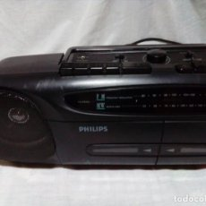Radios antiguas: RADIO CASETE PHILIPS. Lote 236063465