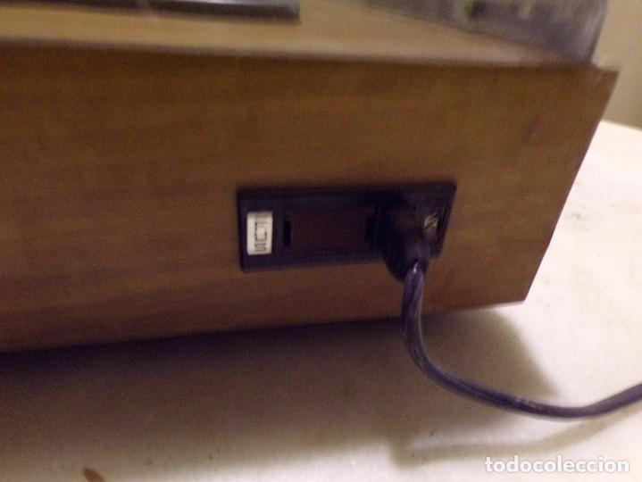 Radios antiguas: tocadiscos vintage marca cosmo modelo 3501 funcionando y buen estado - Foto 11 - 236173150