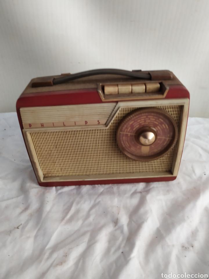 ANTIGUA RADIO TRANSISTOR PHILIPS (Radios, Gramófonos, Grabadoras y Otros - Transistores, Pick-ups y Otros)