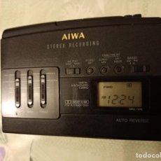 Radio antiche: WALKMAN AIWA HS J390 GRABADOR RADIO DIGITAL AM FM. Lote 236511615