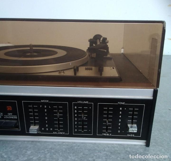 Radios antiguas: TOCADISCOS PLATO ANTIGUO MARCA BETTOR EF-8 20 CMS. DE ALTO X 42 DE ANCHO X 37 LARGO - Foto 4 - 236554005