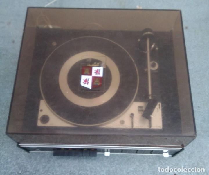 Radios antiguas: TOCADISCOS PLATO ANTIGUO MARCA BETTOR EF-8 20 CMS. DE ALTO X 42 DE ANCHO X 37 LARGO - Foto 5 - 236554005