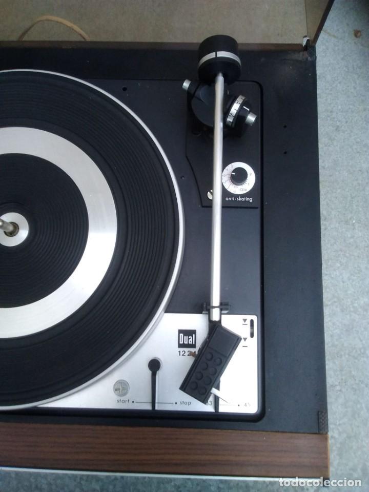 Radios antiguas: TOCADISCOS PLATO ANTIGUO MARCA BETTOR EF-8 20 CMS. DE ALTO X 42 DE ANCHO X 37 LARGO - Foto 7 - 236554005