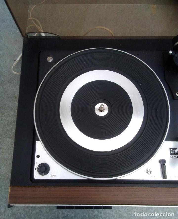 Radios antiguas: TOCADISCOS PLATO ANTIGUO MARCA BETTOR EF-8 20 CMS. DE ALTO X 42 DE ANCHO X 37 LARGO - Foto 8 - 236554005