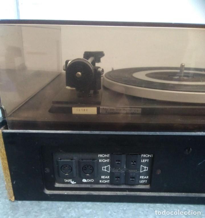 Radios antiguas: TOCADISCOS PLATO ANTIGUO MARCA BETTOR EF-8 20 CMS. DE ALTO X 42 DE ANCHO X 37 LARGO - Foto 10 - 236554005
