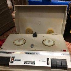 Radios antiguas: GRAN MAGNETOFON MARCA GRUNDIG - FUNCIONANDO. Lote 236776565