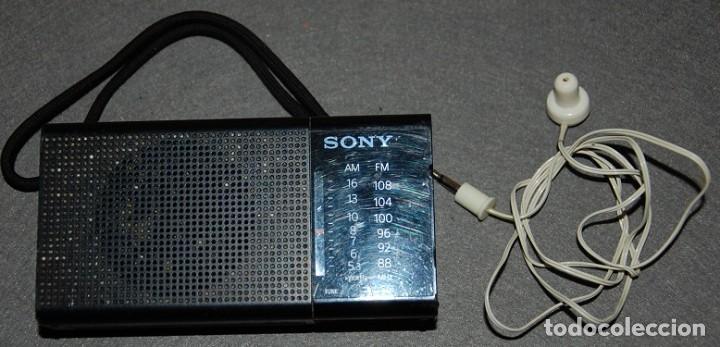 RADIO TRANSISTOR SONY ICF P-36 (Radios, Gramófonos, Grabadoras y Otros - Transistores, Pick-ups y Otros)