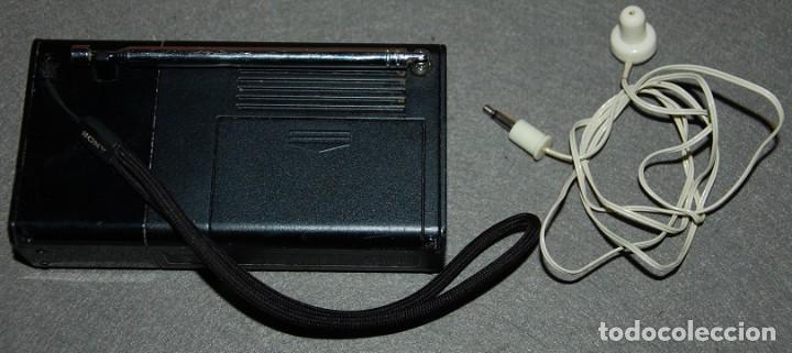 Radios antiguas: RADIO TRANSISTOR SONY ICF P-36 - Foto 2 - 236842360