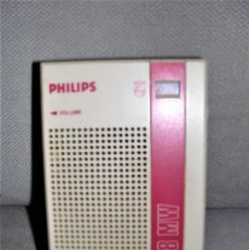 Radios antiguas: RADIO TRANSISTOR PHILIPS D-1018 MW. Lote 238070275