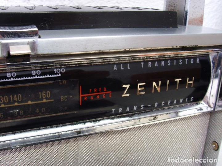 Radios antiguas: RADIO MULTIBANDAS ZENITH 3000 - Foto 7 - 239496400