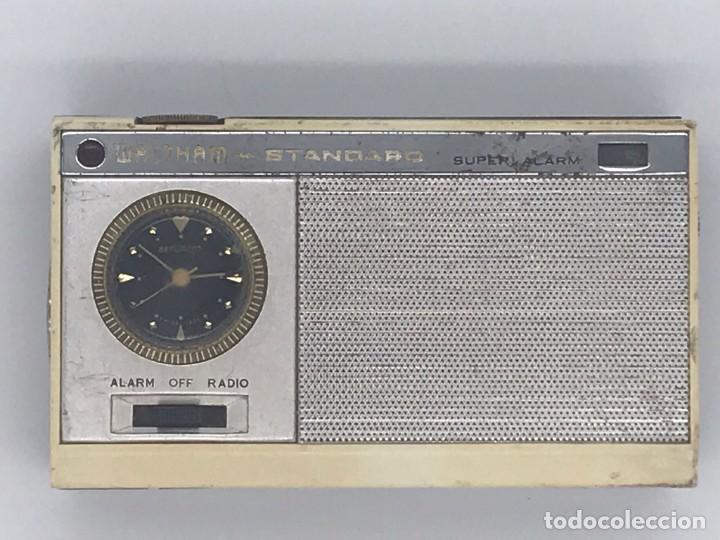 ANTIGUO TRANSISTOR WALTHAM * STANDARD SUPER ALARM (Radios, Gramófonos, Grabadoras y Otros - Transistores, Pick-ups y Otros)