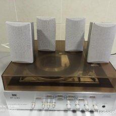 Radios antiguas: TOCADISCOS AMPLIFICADO MAS ALTAVOCES (VER VIDEOS). Lote 240341260