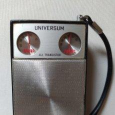 Radios antiguas: ANTIGUA RADIO- TRANSISTOR UNIVERSUM- ALL TRANSISTOR. Lote 240985620