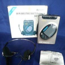 Radios antiguas: WALKMAN SUNNY ST 899S JAPAN EN CAJA NUEVO A ESTRENAR. Lote 242876450