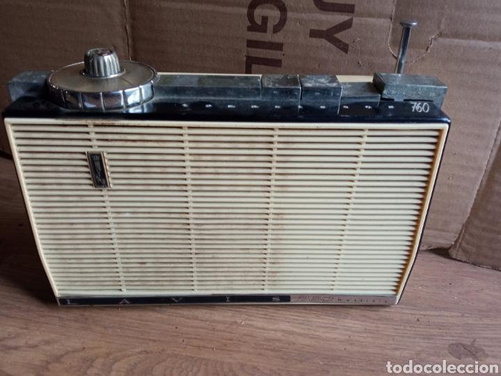 RADIO ANTIGUA LAVIS 760 MÚLTIPLE. (Radios, Gramófonos, Grabadoras y Otros - Transistores, Pick-ups y Otros)