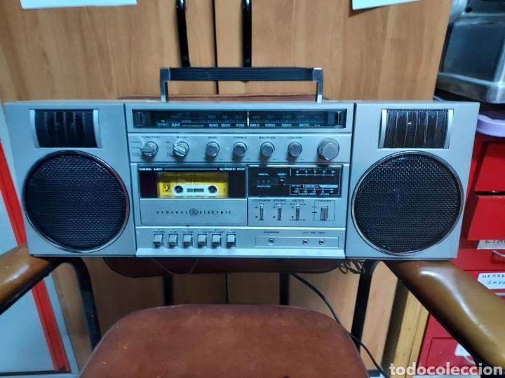 RADIOCASETE GENERAL ELECTRIC (Radios, Gramófonos, Grabadoras y Otros - Transistores, Pick-ups y Otros)
