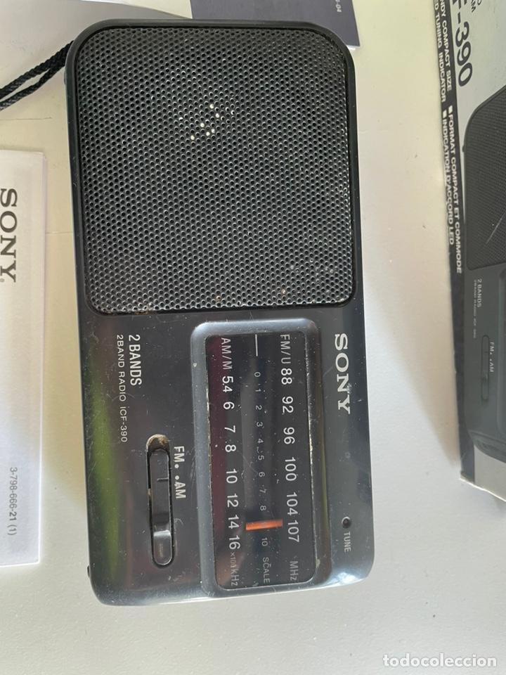 Radios antiguas: Radio Sony antigua - Foto 2 - 243658780