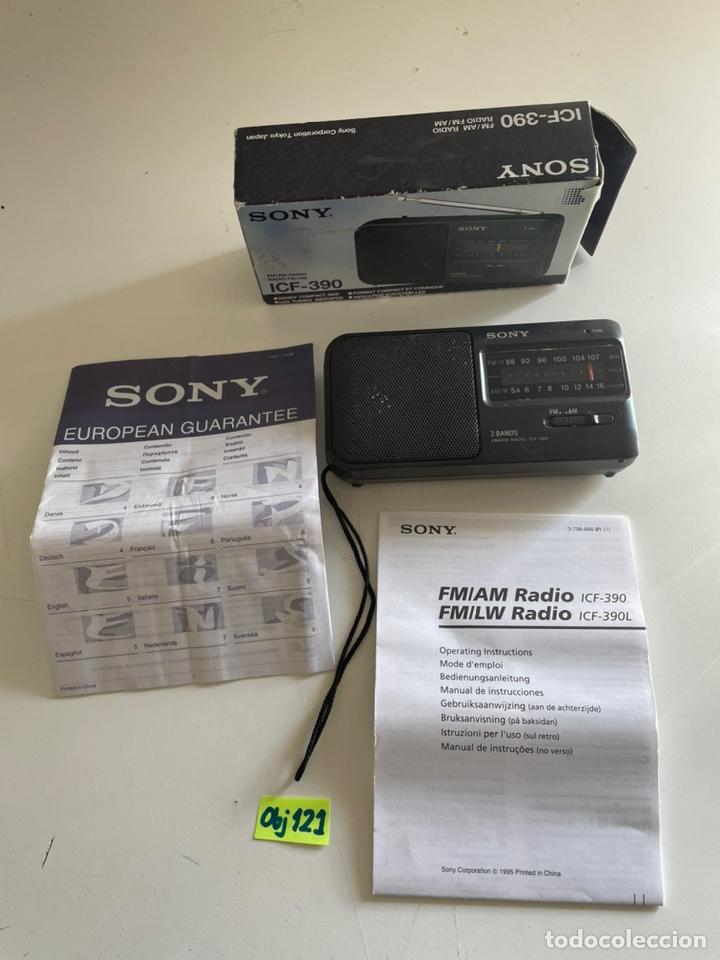 RADIO SONY ANTIGUA (Radios, Gramófonos, Grabadoras y Otros - Transistores, Pick-ups y Otros)