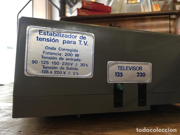 Radios antiguas: Lote de 2 estabilizadores de tensión marca Rekord y Aype + tarjeta garantía - Foto 7 - 244191810