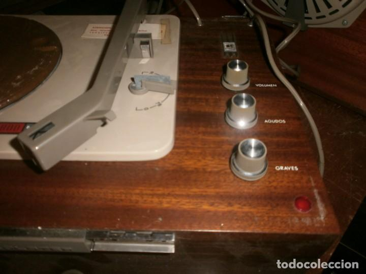 Radios antiguas: Tocadiscos kolster 1800 stereo Oslo altura 28 cm. ancho 42X20 cm. sin aguja - enciende pero no mueve - Foto 3 - 245063020