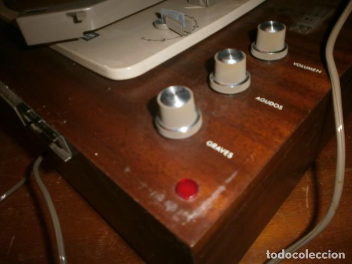 Radios antiguas: Tocadiscos kolster 1800 stereo Oslo altura 28 cm. ancho 42X20 cm. sin aguja - enciende pero no mueve - Foto 4 - 245063020