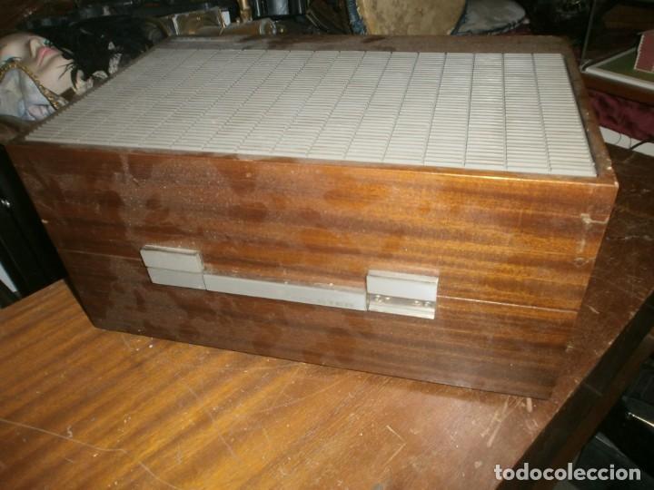 Radios antiguas: Tocadiscos kolster 1800 stereo Oslo altura 28 cm. ancho 42X20 cm. sin aguja - enciende pero no mueve - Foto 8 - 245063020