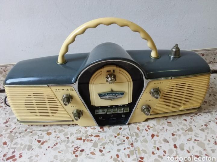 Radios antiguas: Radio casset, retro,,CICENA,FUNCIONA BIIEN,,125volt,, - Foto 2 - 245268625