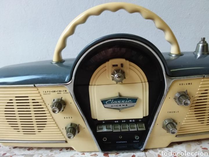 Radios antiguas: Radio casset, retro,,CICENA,FUNCIONA BIIEN,,125volt,, - Foto 3 - 245268625