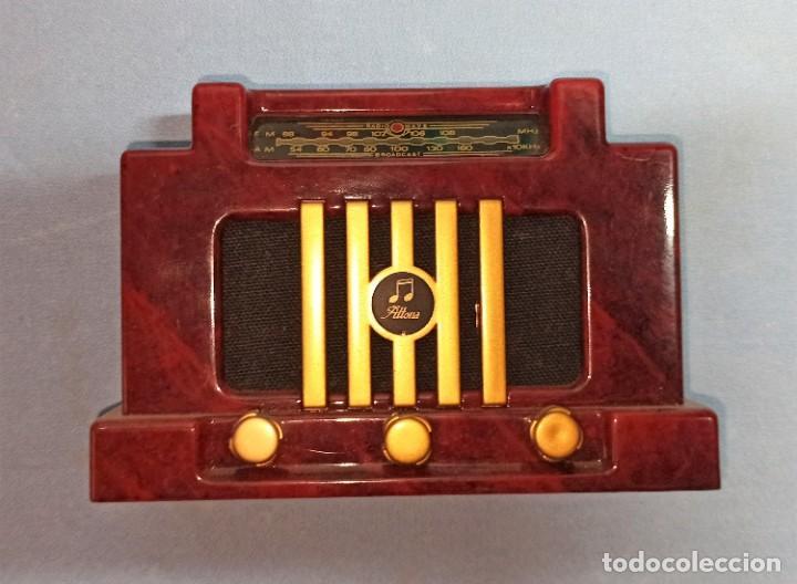 Radios antiguas: RADIO DE FANTASIA CON CAJA - Foto 4 - 245444935