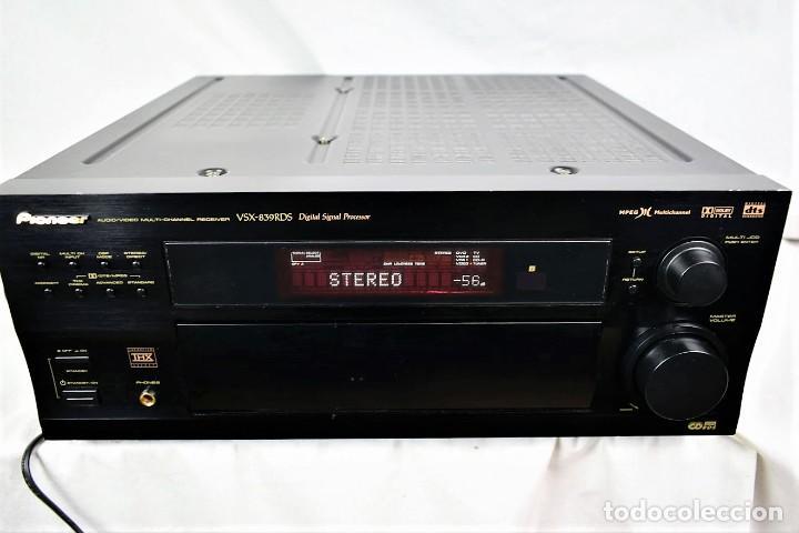 AMPLIFICADOR SINTONIZADOR PIONNER VSX-839RDS (Radios, Gramófonos, Grabadoras y Otros - Transistores, Pick-ups y Otros)