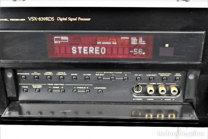 Radios antiguas: Amplificador sintonizador Pionner VSX-839RDS - Foto 4 - 245460775