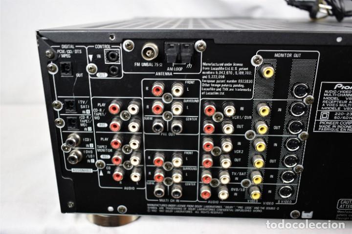 Radios antiguas: Amplificador sintonizador Pionner VSX-839RDS - Foto 7 - 245460775