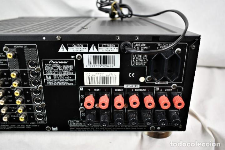 Radios antiguas: Amplificador sintonizador Pionner VSX-839RDS - Foto 8 - 245460775