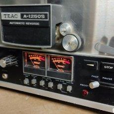 Radios antiguas: TEAC A-1250-S AUTOMATIC REVERSE. Lote 245600510
