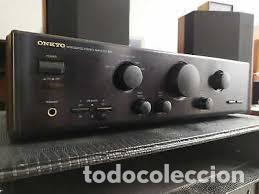 Radios antiguas: AMPLIFICADOR ONKYO R1 MODELO 9210 MADE IN JAPAN PEPETO ELECTRONICA VER VIDEO - Foto 3 - 246648685