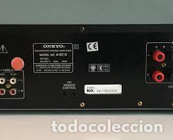 Radios antiguas: AMPLIFICADOR ONKYO R1 MODELO 9210 MADE IN JAPAN PEPETO ELECTRONICA VER VIDEO - Foto 4 - 246648685