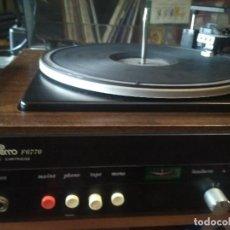 Rádios antigos: TOCADISCOS AMPLIFICADO COSMO F6770 PEPETO ELECTRONIA VINTAGE VER FOTOS Y VIDEO. Lote 247124375