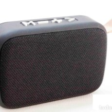 Radios antiguas: RADIO ALTAVOZ BLUETOOTH MARCA PRITECH BATERIA RECARGABLE - NUEVA. Lote 247165835