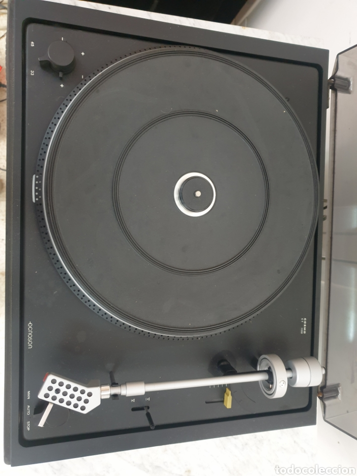 Radios antiguas: Tocadiscos Cosmos C.T 1100 - Foto 2 - 247291655