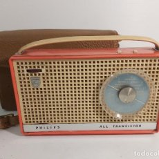 Radios antiguas: TRANSISTOR PHILIPS ALL TRANSISTOR. Lote 247328640