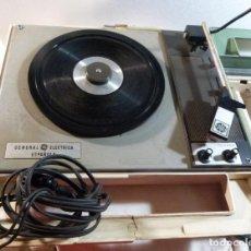 Radios antiguas: TOCADISCOS GENERAL ELECTRICA ESPAÑOLA. Lote 247815635