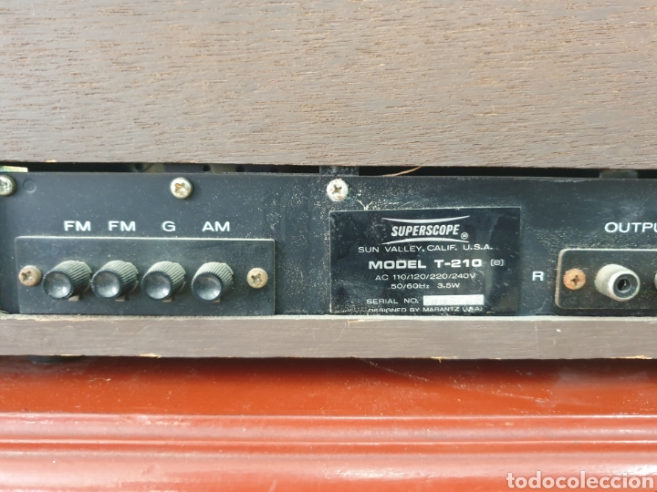 Radios antiguas: Radio Superscope T-210 - Foto 10 - 248089565