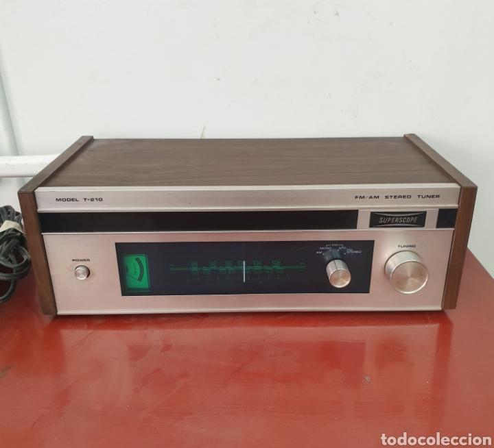 RADIO SUPERSCOPE T-210 (Radios, Gramófonos, Grabadoras y Otros - Transistores, Pick-ups y Otros)