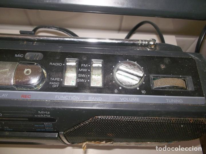 Radios antiguas: RADIO CASSETTE CASETE SONY CFM-140 S II - Foto 4 - 248813095