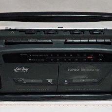Radios antiguas: RADIO CASETE DOBLE LUX-WAY L-310.. Lote 249135270