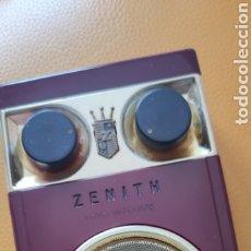 Radios antiguas: TRANSISTOR ZENITH 500 ROYAL FUNCIONANDO. Lote 249470260