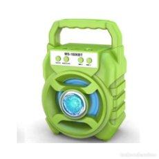 Radios antiguas: ALTAVOZ MULTIMEDIA RADIO BLUETOOTH TARJETA USB NUEVO. Lote 249569595