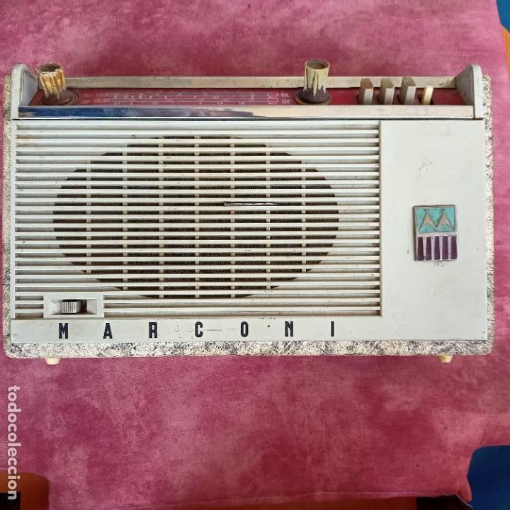 Radios antiguas: Radio Marconi vintage - Foto 2 - 250161640