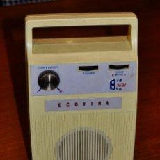 Radios antiguas: REPRODUCTOR 8 PISTAS ECOFINA. Lote 253302060